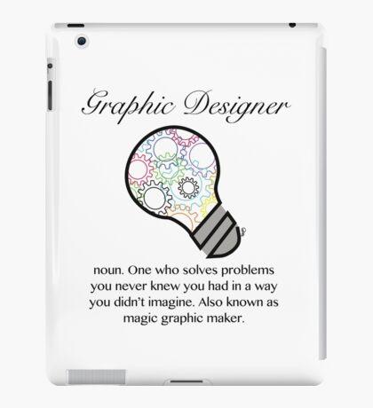 Graphic Designer Magic Graphic Maker  iPad Case/Skin