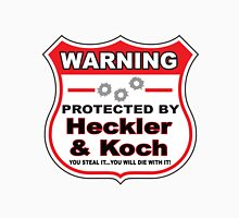Heckler Koch Protected by Heckler Koch Unisex T-Shirt