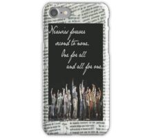 Newsies Forever. Second to None. (iPhone case only) iPhone Case/Skin