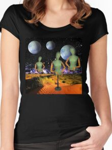 3 of a Kind Women's Fitted Scoop T-Shirt