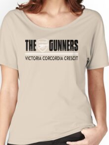 The Gunners - Arsenal - Victoria Corcordia Crescit Women's Relaxed Fit T-Shirt