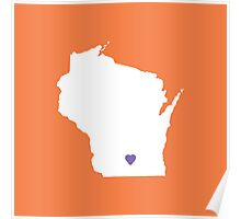 Wisconsin Love Poster