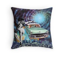 Nude Hitchhiker Throw Pillow