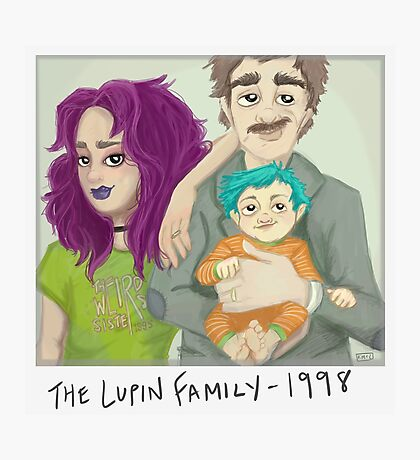 The Lupin Family Photographic Print