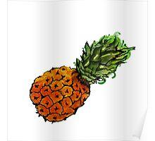 Exploding Pineapple Poster