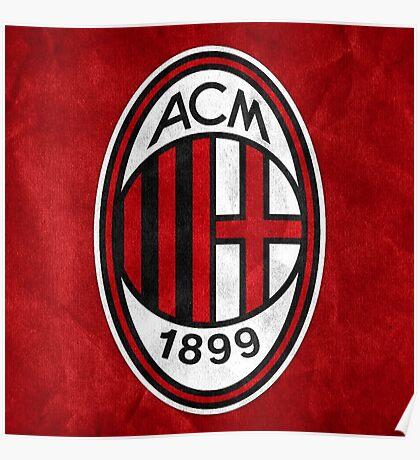 Logo AC Milan Poster