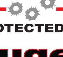 Ruger Protected by Ruger Shield Sticker