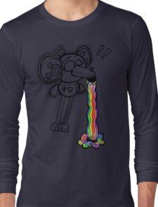 Expressional Elephant (Rainbow Edit) Long Sleeve T-Shirt