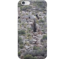 Side of Mountain over Queen Mine Tours- Bisbee iPhone Case/Skin