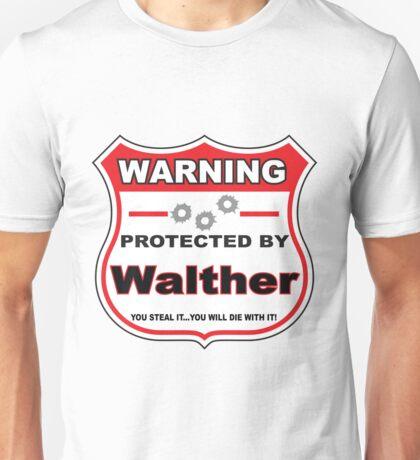 Walther Protected by Walther Unisex T-Shirt
