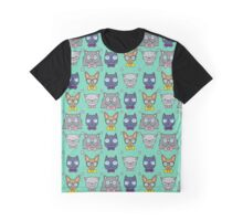 Nerdy Cats Graphic T-Shirt