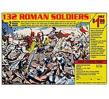 Roman Soldiers Comic Book Ad Photographic Print