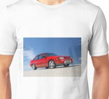 Red Ford Laser TX3 4WD Turbo Unisex T-Shirt