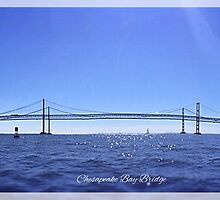 Chesapeake Bay Bridge by Kenneth Graham