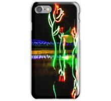 Floriade Night Display - Canberra iPhone Case/Skin