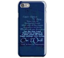 The OUAT Beginning iPhone Case/Skin