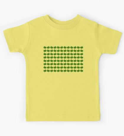 Leaf Pattern Kids Tee