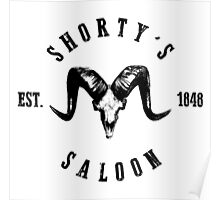 Shorty's Saloon Poster