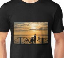 Sunset Cyclist Unisex T-Shirt