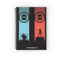 TWENTY ONE PILOTS Spiral Notebook