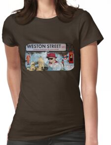 London Homeage Womens Fitted T-Shirt
