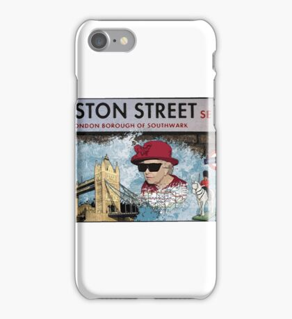 London Homeage iPhone Case/Skin
