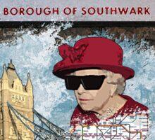 London Homeage Sticker
