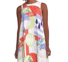 Julyan Cuevas Designs A-Line Dress