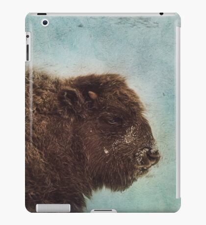 Wood Buffalo iPad Case/Skin