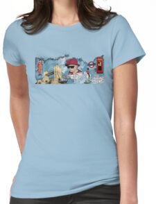 London Homage Splat! Womens Fitted T-Shirt