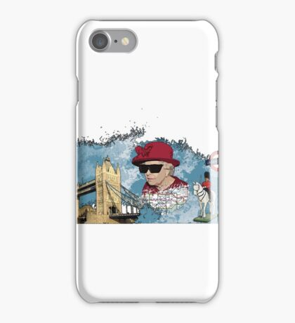 London Homage Splat! iPhone Case/Skin