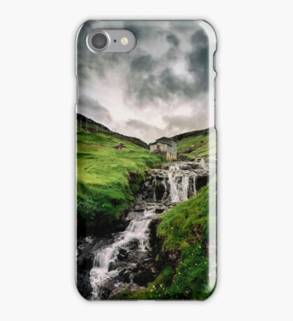 Haldarsvik Mist iPhone Case/Skin