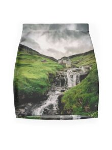Haldarsvik Mist Mini Skirt
