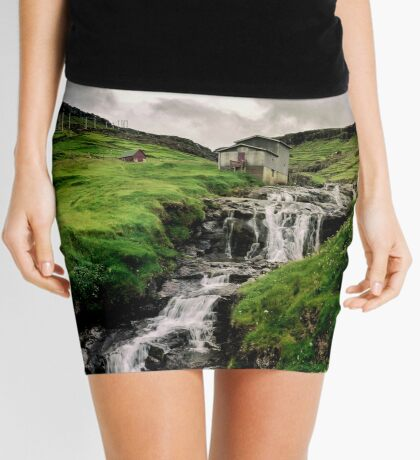 Haldarsvik Mist Mini Skirt