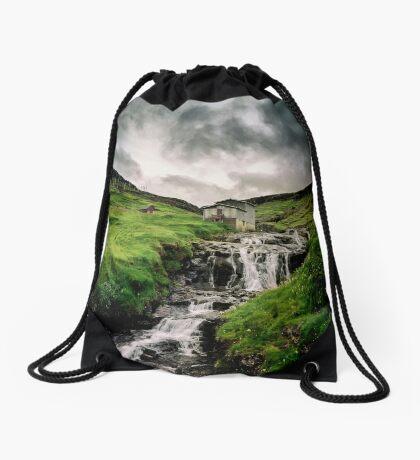 Haldarsvik Mist Drawstring Bag