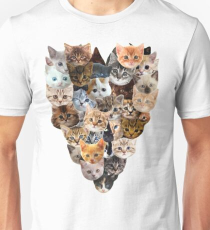 For the Love of Cats Unisex T-Shirt