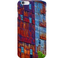 There's a rusty building in town iPhone Case/Skin