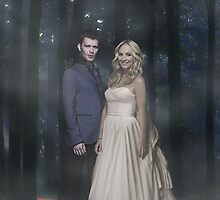 Klaroline ~ Klaus and Caroline by itsbellsworld