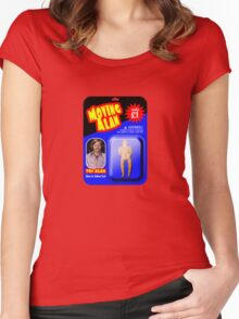 Moving Alan. 70s Alan Women's Fitted Scoop T-Shirt