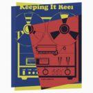 Pop Art Reel To Reel by retrorebirth