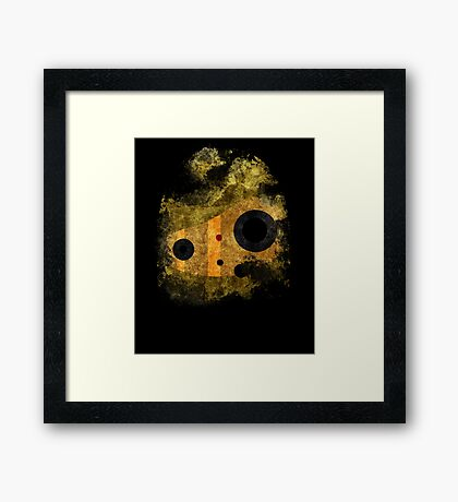 laputa: castle in the sky robot guardian Framed Print