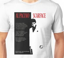 SCARFACE POSTER - AL PACINO Unisex T-Shirt