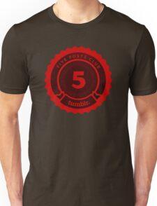 5 Posts Club Tumblr Unisex T-Shirt