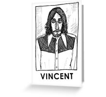 Vincent Gallo! Greeting Card