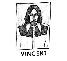Vincent Gallo! Photographic Print
