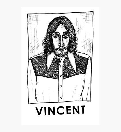 Vincent Gallo! Photographic Print