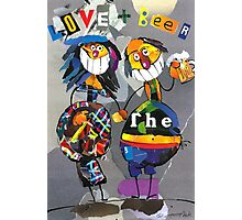 Love and beer Photographic Print