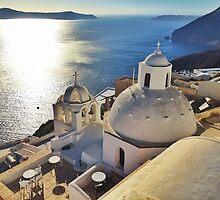 Graceful Standpoint of Santorini by ProjectSpearman