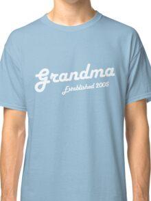 Grandma Established Est 2005 New Baby T-Shirt Classic T-Shirt