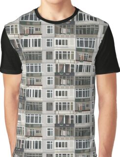 Urban aesthetic of russian high-rise buildings Graphic T-Shirt